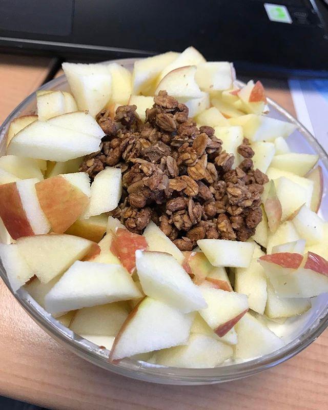 Яблоки и крупа