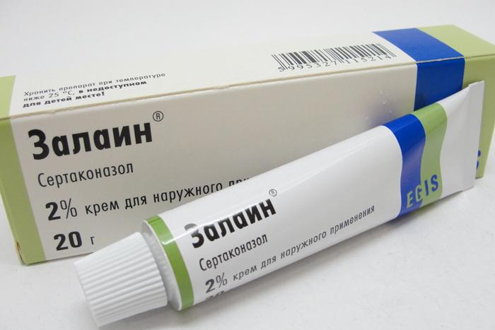 Препарат Залаин для лечения молочницы у мужчин и женщин