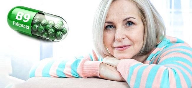 Витамин В9 при климаксе