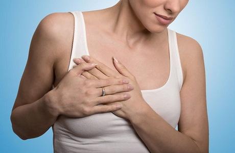 Болит грудь при месячных