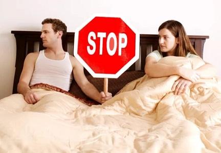 Причины прерванного полового акта
