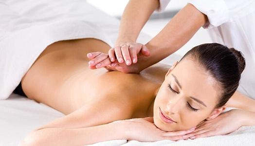 Точечный массаж при боли в пояснице при месячных