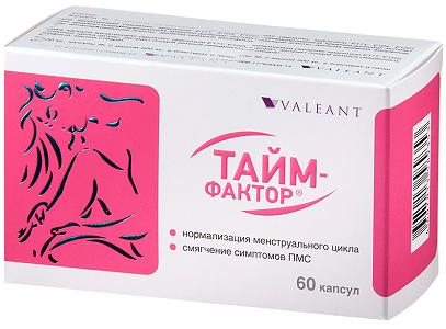 Витамины Тайм-фактор во время месячных
