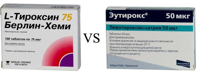 Аналоги L-Тироксина