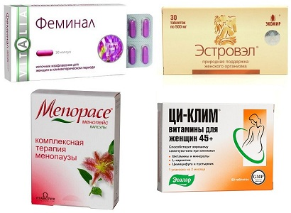 Аналоги препарата Овариамин при климаксе