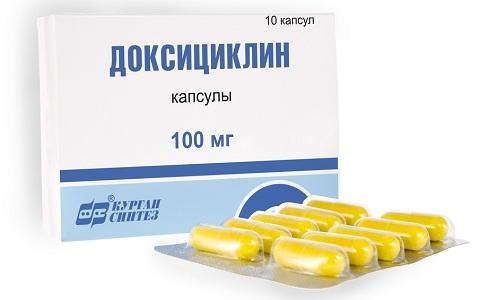 Доксициклин при лечении эндометрита