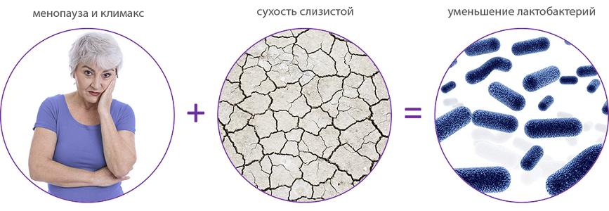 Факторы развития недержания при климаксе