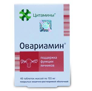 Препарат Овариамин при подготовке к зачатию и во время менопаузы