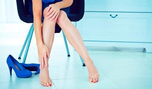 Профилактика боли в ногах перед месячными