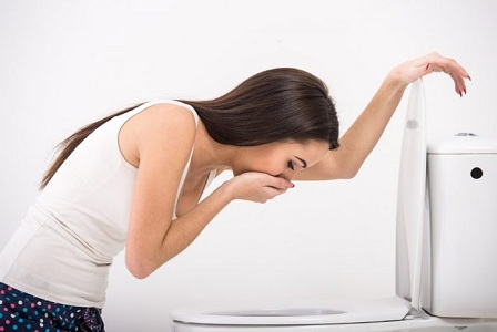 Тошнота при кисте яичника и беременности