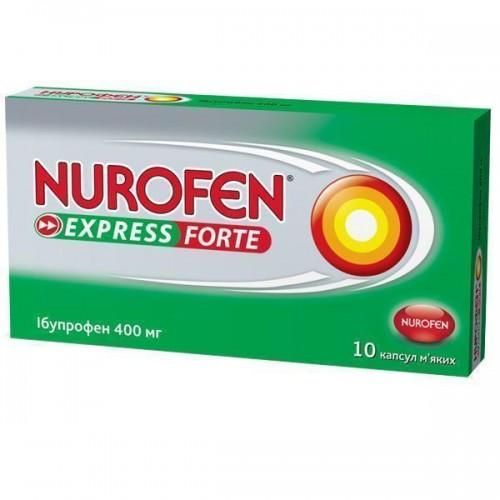 Нурофен экспресс форте при менструальных болях