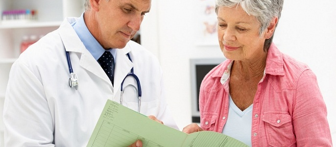 Консультация врача в период постменопаузы