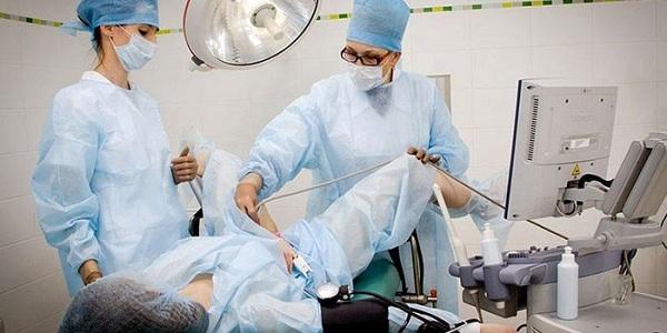 Методика проведения гистерорезектоскопии