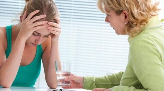 Нарушение менструального цикла у подростков