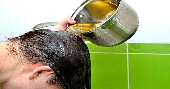 Ополаскивание уксусом при выпадении волос