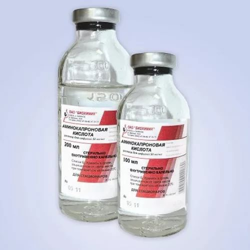 Аминокапроновая кислота при обильных месячных