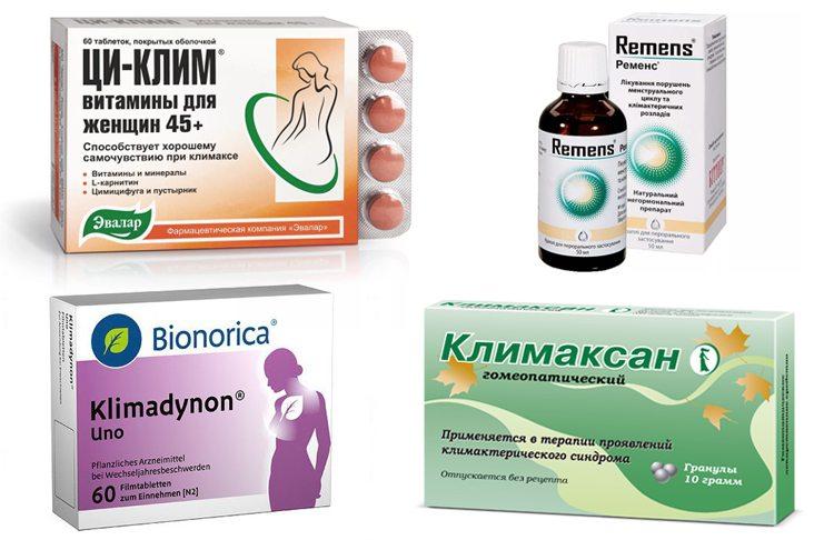Препараты с фитоэстрагенами при менопаузальной гормональной терапии